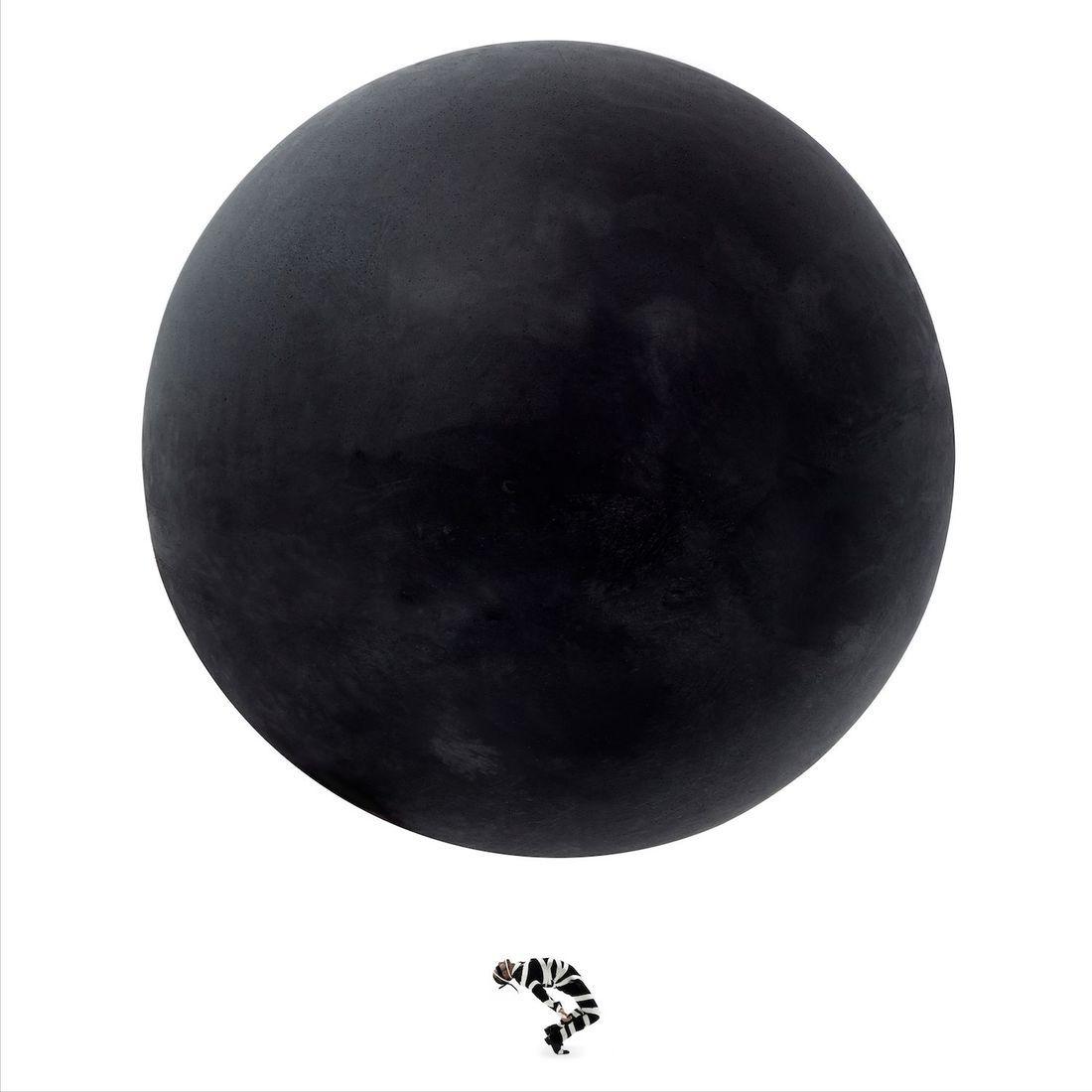 """Black Earth And The Fool"", 2015 de Gérard Rancinan - Courtesy Galerie Rive Gauche"