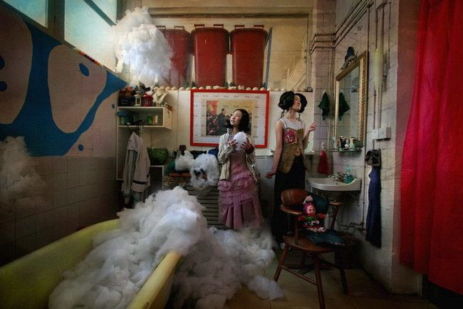 "Série ""Days on the Cotton Candy N°6"", 2006 de Maleonn - Courtesy Galerie Magda Danysz"