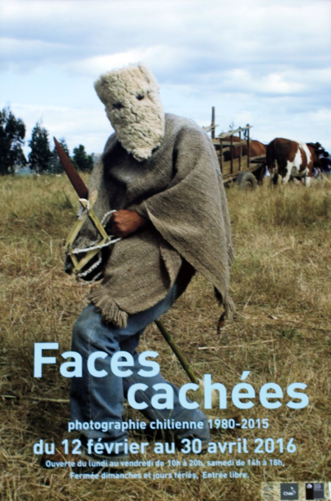 Expo Collective Contemporaine: &quot&#x3B;Faces cachées&quot&#x3B; Photographie chilienne 1980-2015