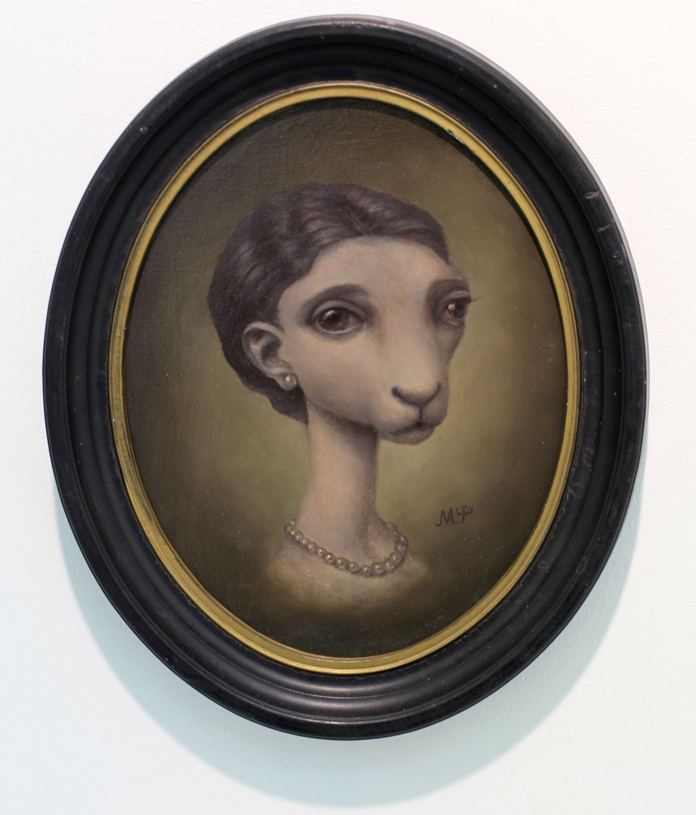 """Sheep lady"", 2016 de Marion Peck - Courtesy Galerie Magda Danysz © Photo Éric Simon"