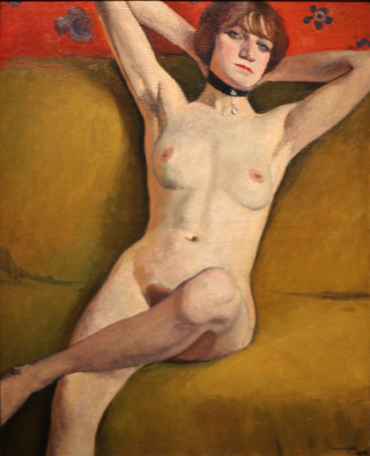 """Nu au divan"", 1914 d'Albert Marquet © Photo Éric Simon"