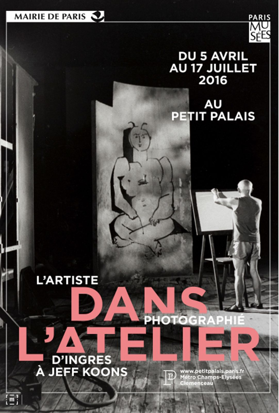 Expo Photographie Contemporaine: Dans l'atelier  l'artiste photographié d'Ingres à Jeff koons