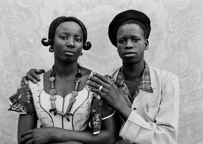"""""""Sans titre"""", 1949 de Seydou Keïta"""