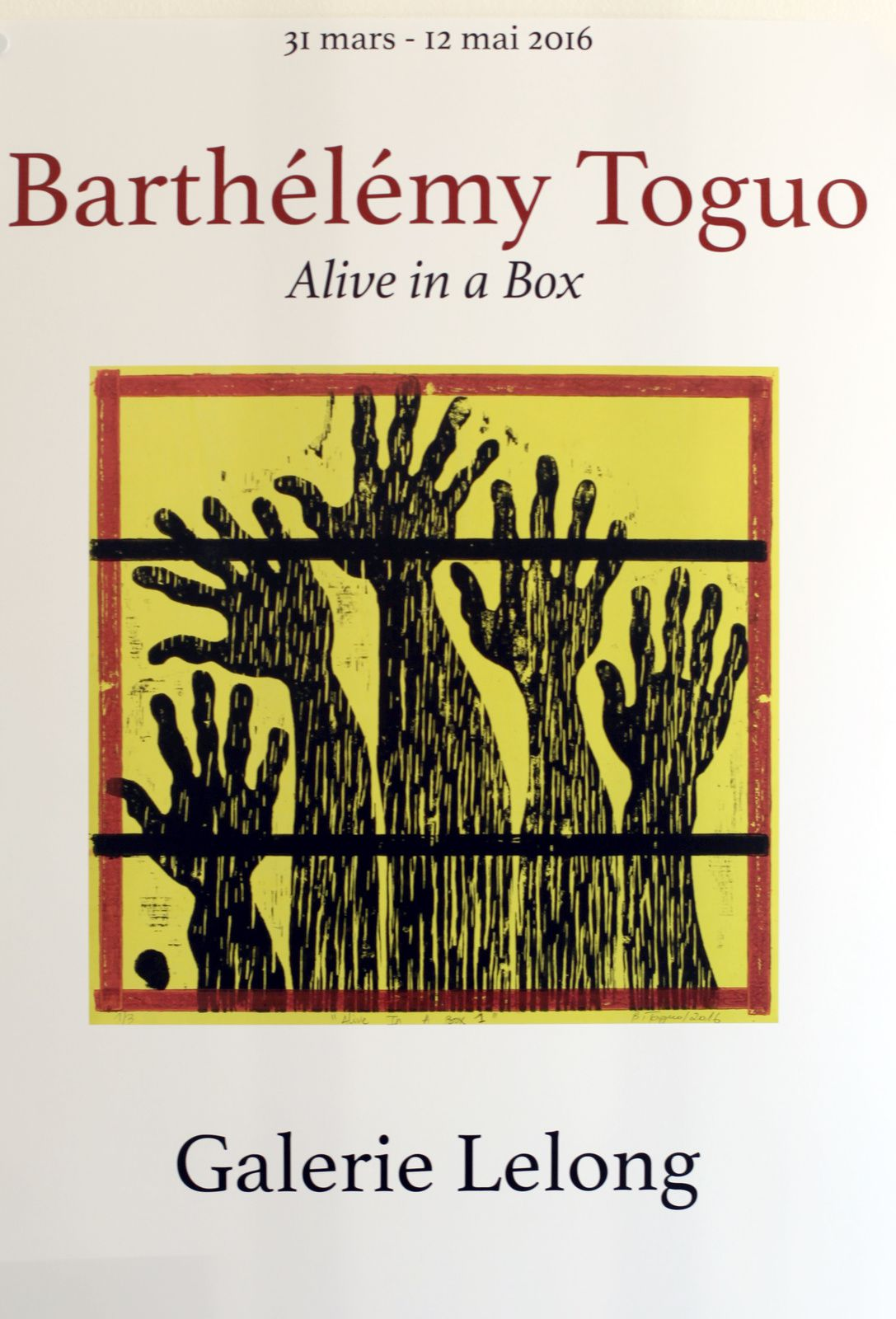 Expo Dessin Contemporain: Barthélémy TOGUO &quot&#x3B;Alive in a box&quot&#x3B;
