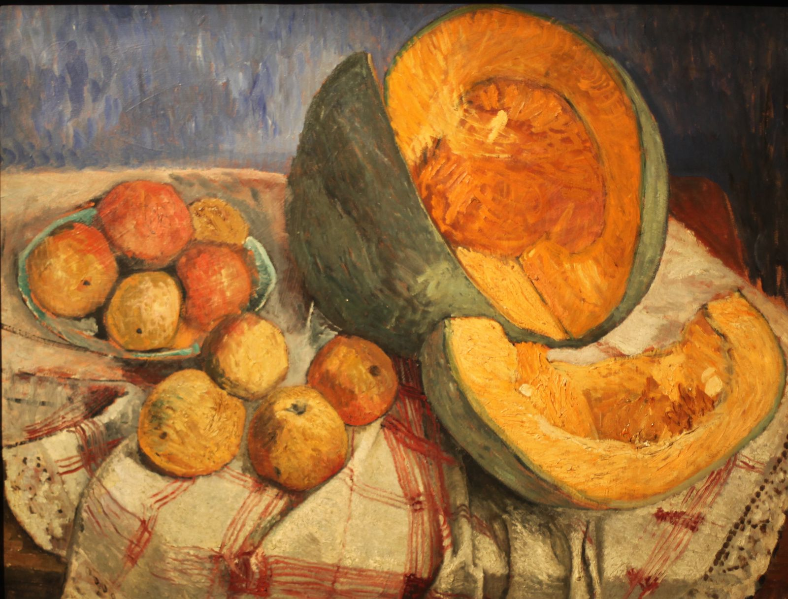 """Nature morte au potiron"", 1905 de Paula Modersohn-Becker © Photo Éric Simon"
