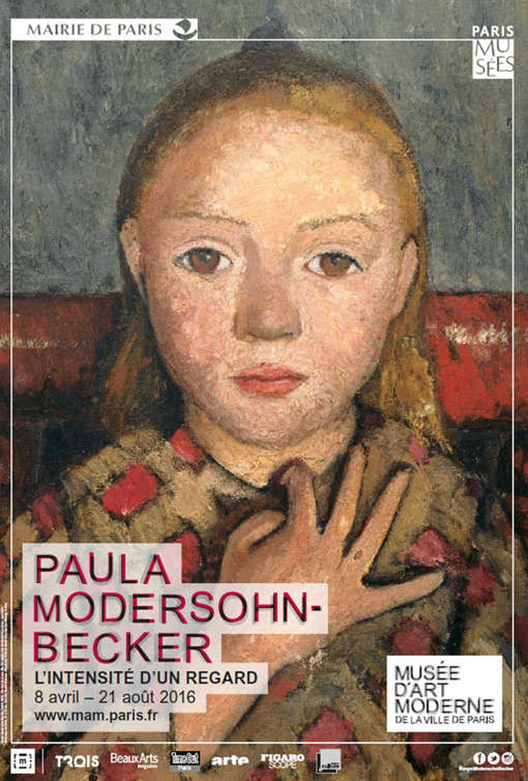 Expo Peinture Contemporaine:   Paula MODERSOHN-BECKER  &quot&#x3B;L'intensité d'un regard »