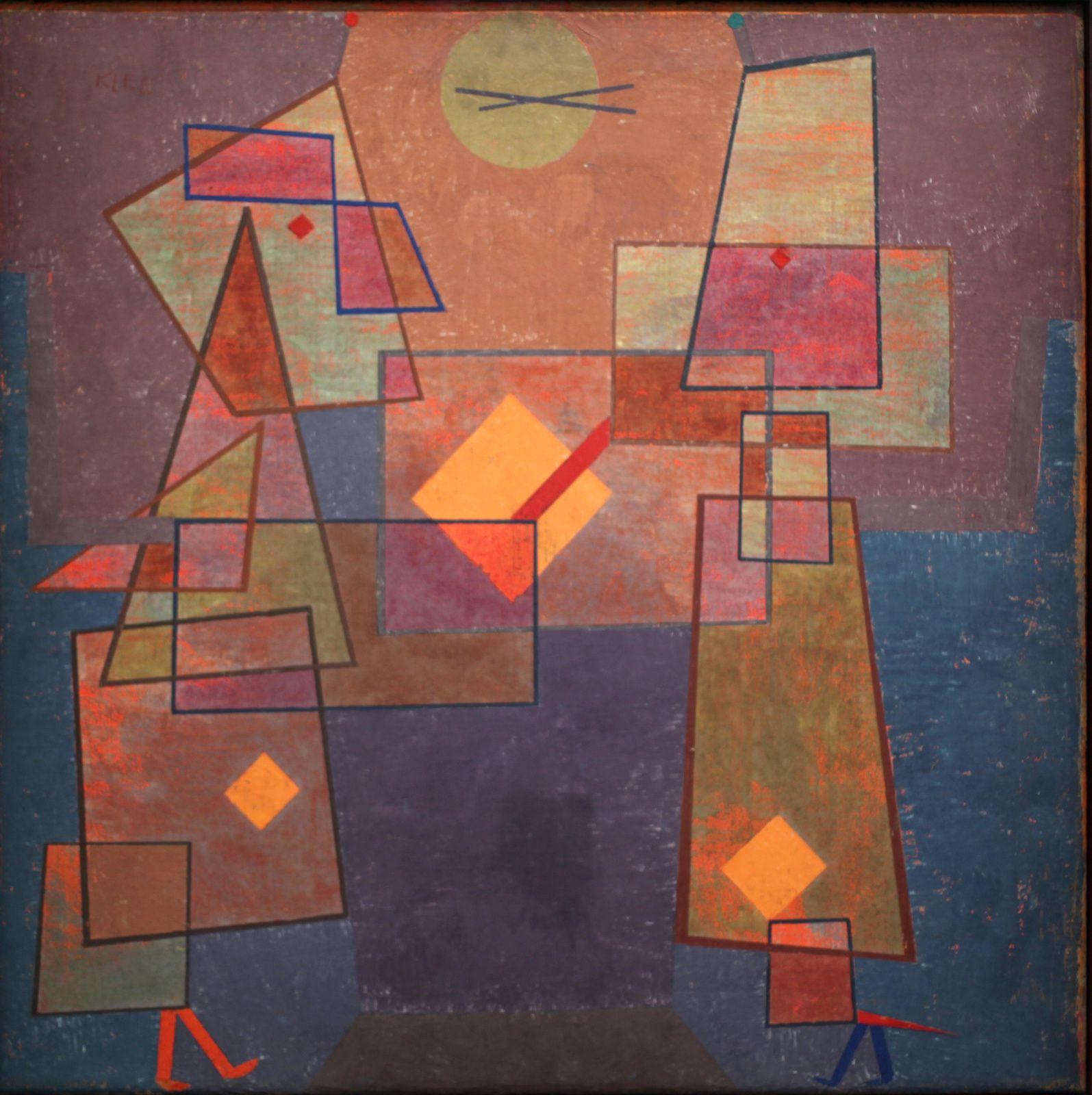 """""""Discussion"""", 1929 de Paul KLEE © Photo Éric Simon"""