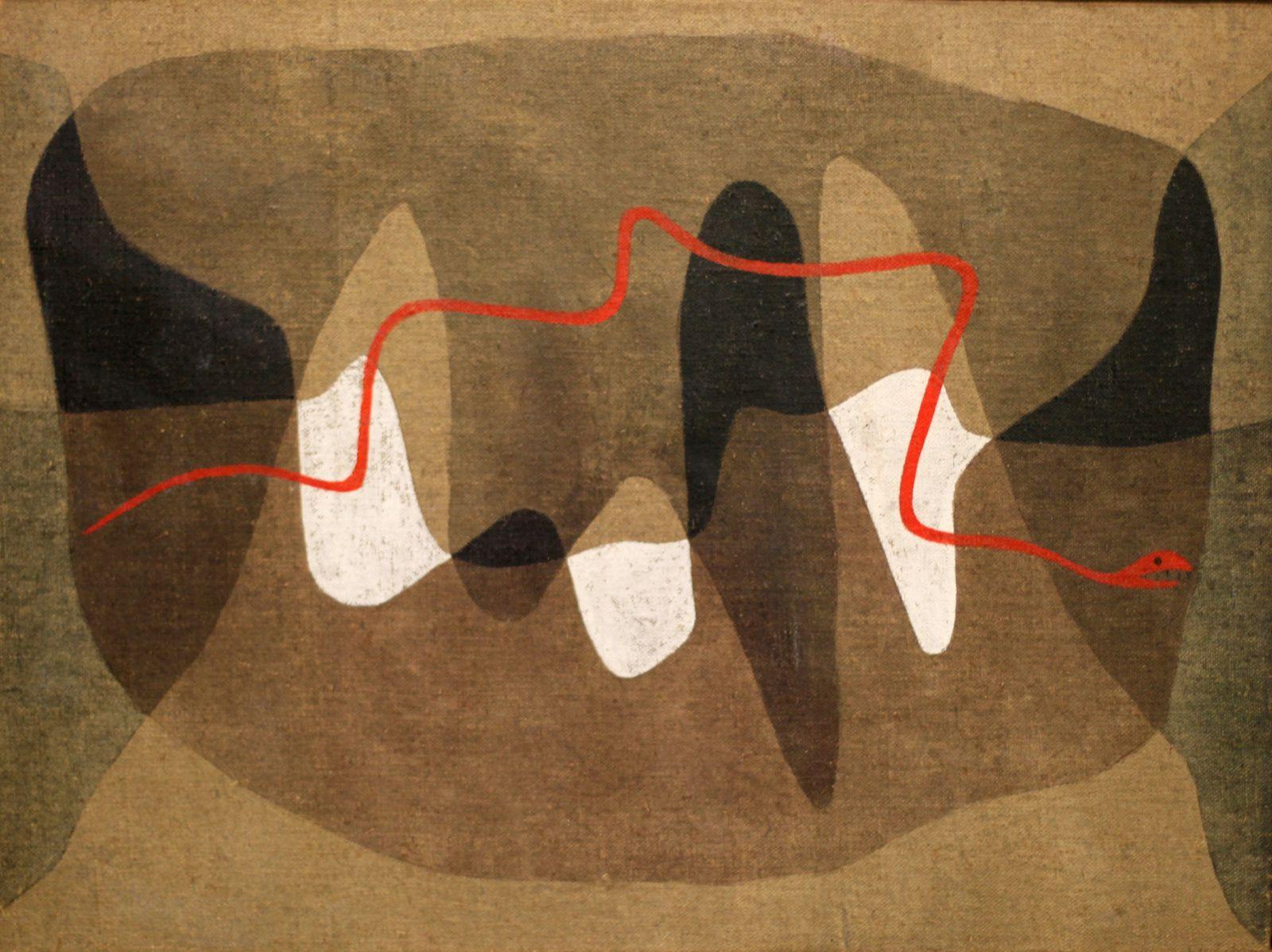 """""""Chemin des serpents"""", 1934 de Paul KLEE © Photo Éric Simon"""
