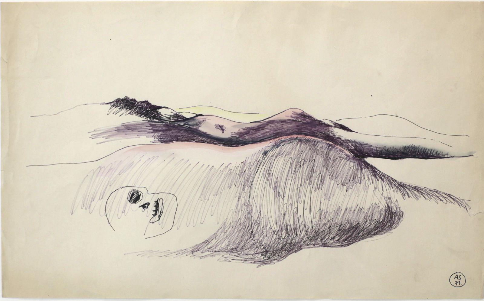 """Paysage humain"", 1971 d'Alina Szapocznikow - Courtesy Galerie Loevenbruck © photo Éric Simon"