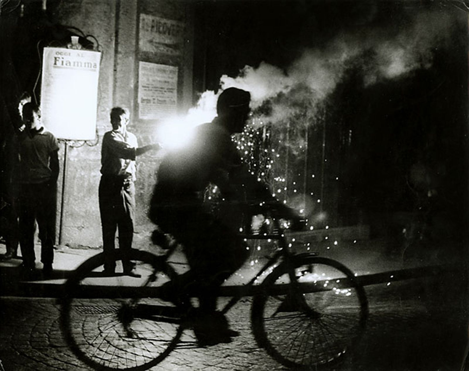 """Naples"", 1955 de Sabine WEISS - Courtesy les Douches la Galerie"