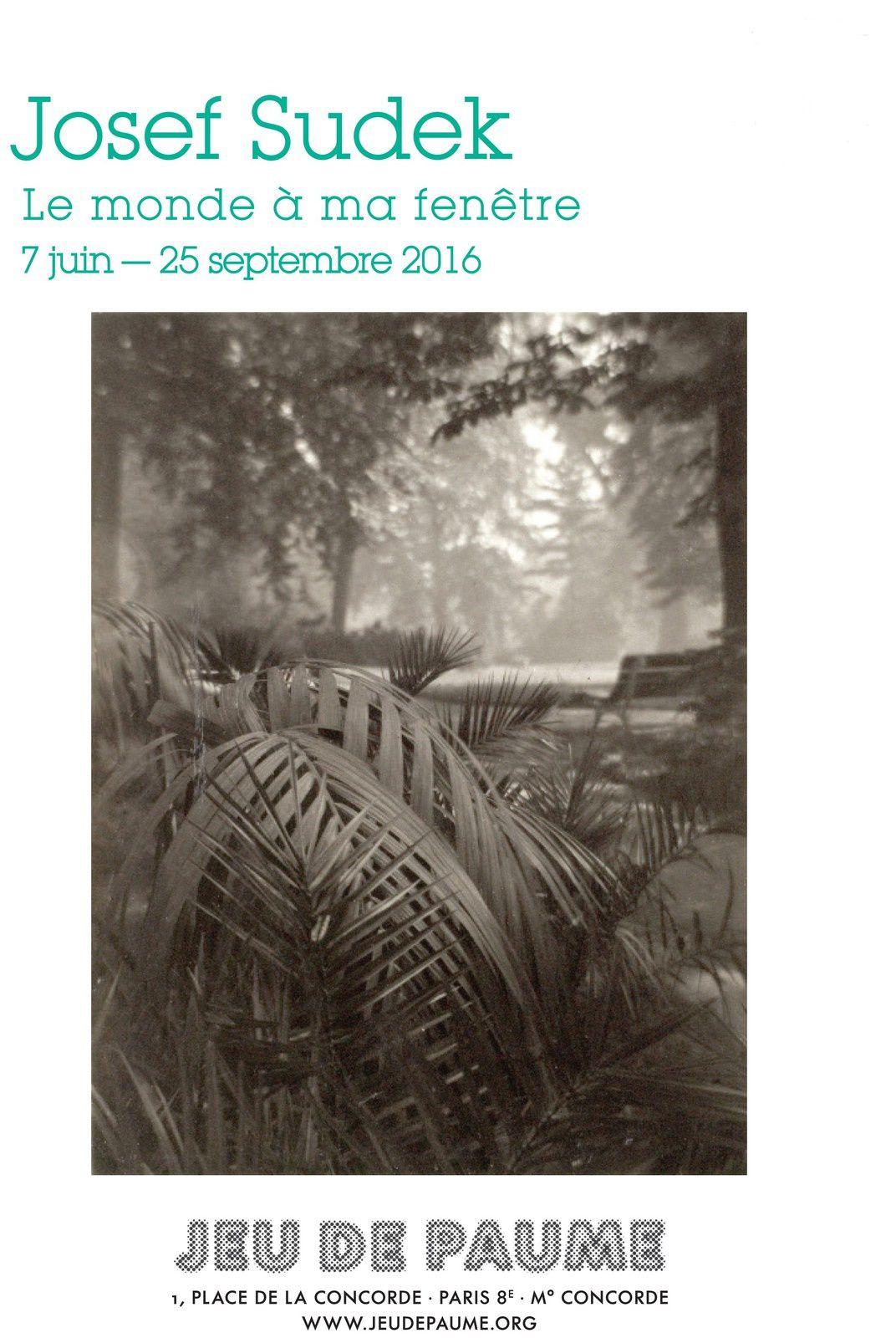 Expo Photographie Contemporaine: Josef SUDEK &quot&#x3B;Le monde à ma fenêtre&quot&#x3B;