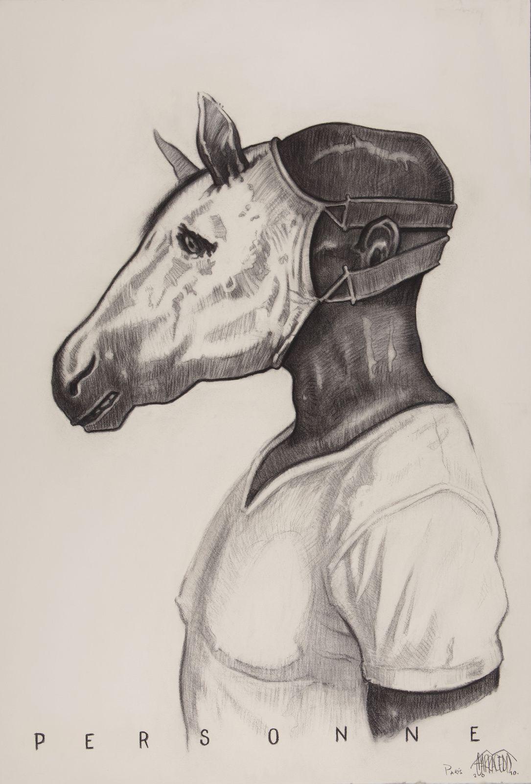 """Personne"", 2016 de Jorge Luis Miranda Carracedo - Courtesy Galerie Vallois"