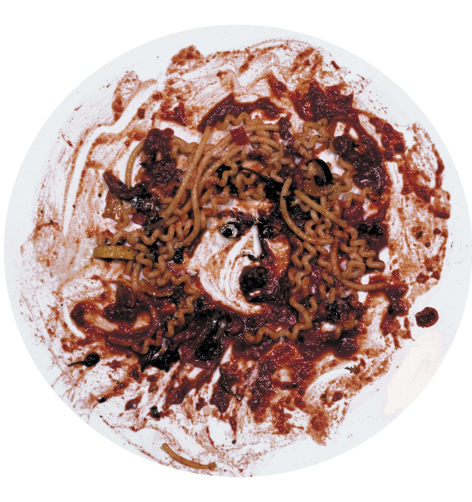 """Medusa Marinara"", 1999 de Vik MUNIZ - Courtesy MEP"