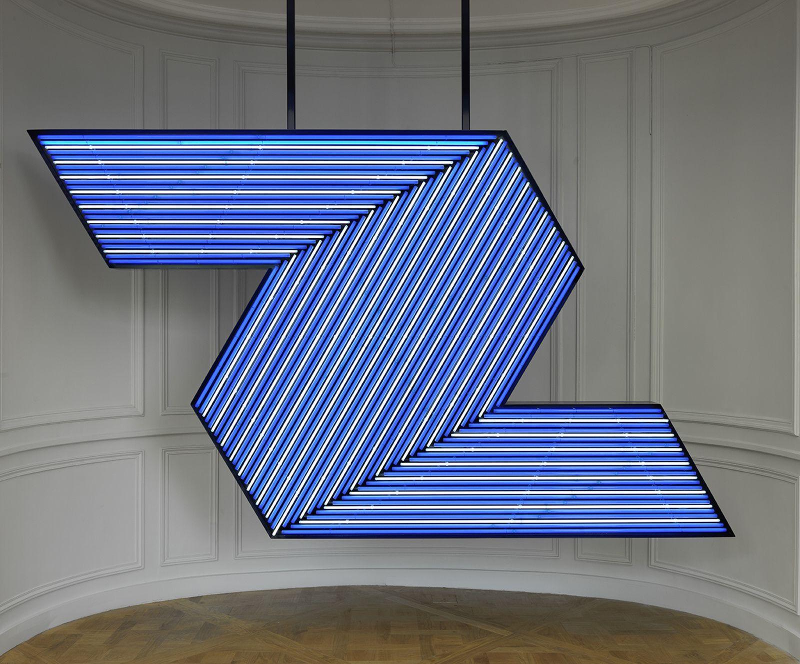 Bertrand LAVIER - Courtesy Musée de la Monnaie de Paris