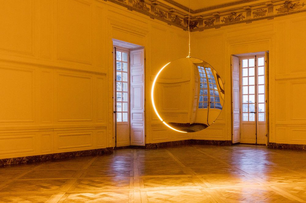 """Solar Compression"", 2016  Olafur Eliasson, Palace of Versailles. Photo © Anders Sune Berg - Courtesy of the artist&#x3B; neugerriemschneider, Berlin&#x3B; Tanya Bonakdar Gallery, New York"