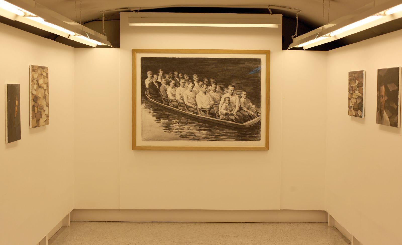 """The Transportation"", 2016 de Peter MARTENSEN - Courtesy Galerie Maria LUND  © Photo Éric Simon"