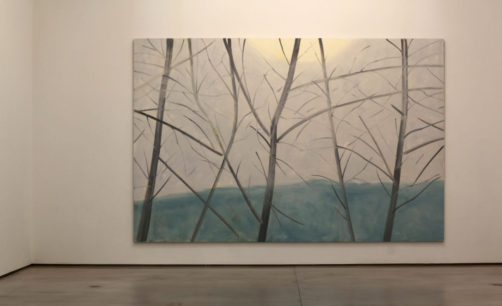 """Light Landscape 2"", 2016 d'Alex KATZ - Courtesy Galerie ROPAC @ © Photo Éric Simon"
