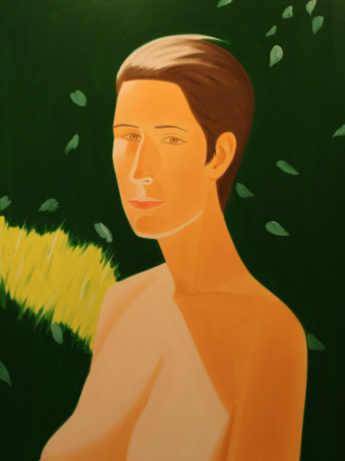 """Sandra 2"", 1986 d'Alex KATZ - Courtesy Galerie ROPAC @ © Photo Éric Simon"