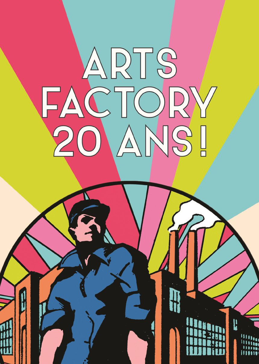 Expo Collective Illustration Contemporaine: ARTS FACTORY / 20 ans d'expositions &amp&#x3B; d'éditions