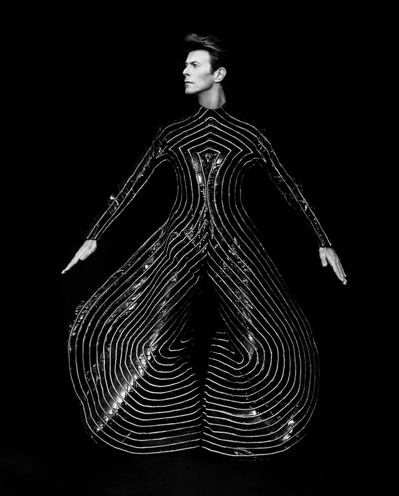"""""""David Bowie"""", 1989 de Herb RITTS  © Herb Ritts Foundation"""