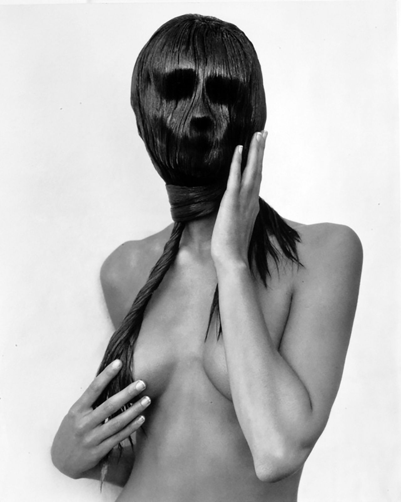 """Mask, Hollywood"", 1989 de Herb RITTS  © Herb Ritts Foundation"