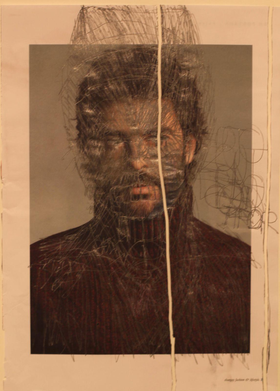 """""""Sans Titre"""", entre 2008 et 2014 de José Manuel EGEA -  - Courtesy Galerie Christian Berst art brut © Photo Éric Simon"""