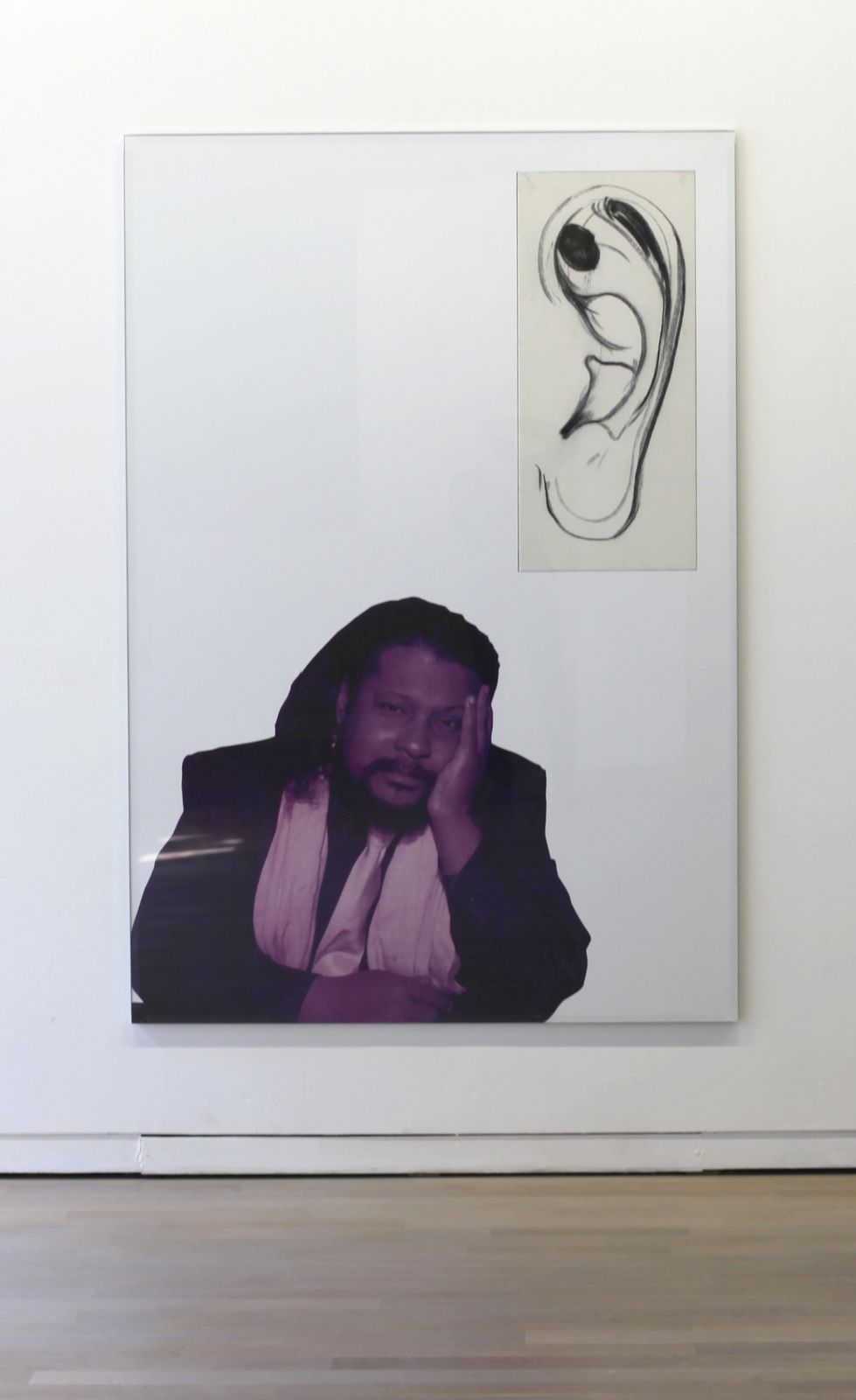 """""""Tyrone Hayes"""", 2016 de Will BENEDICT - Courtesy Galerie Balice & Hertling © Photo Éric Simon"""