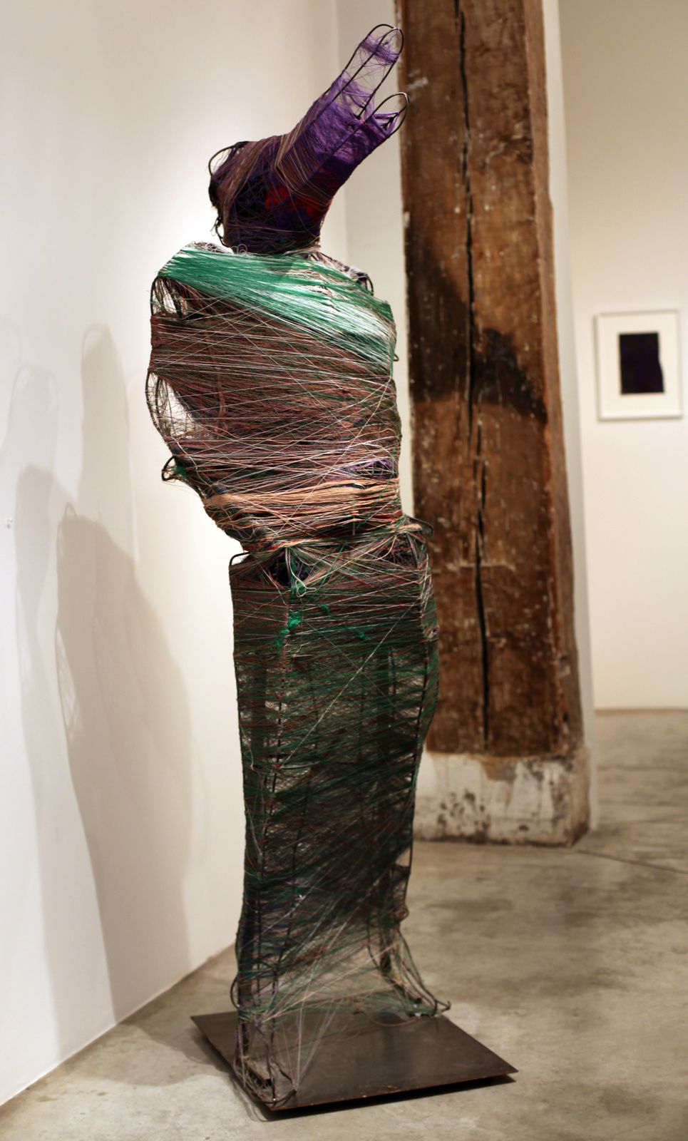 """Sculpture """"Sans Titre"""", entre 2008 et 2014 de José Manuel EGEA -  - Courtesy Galerie Christian Berst art brut © Photo Éric Simon"""