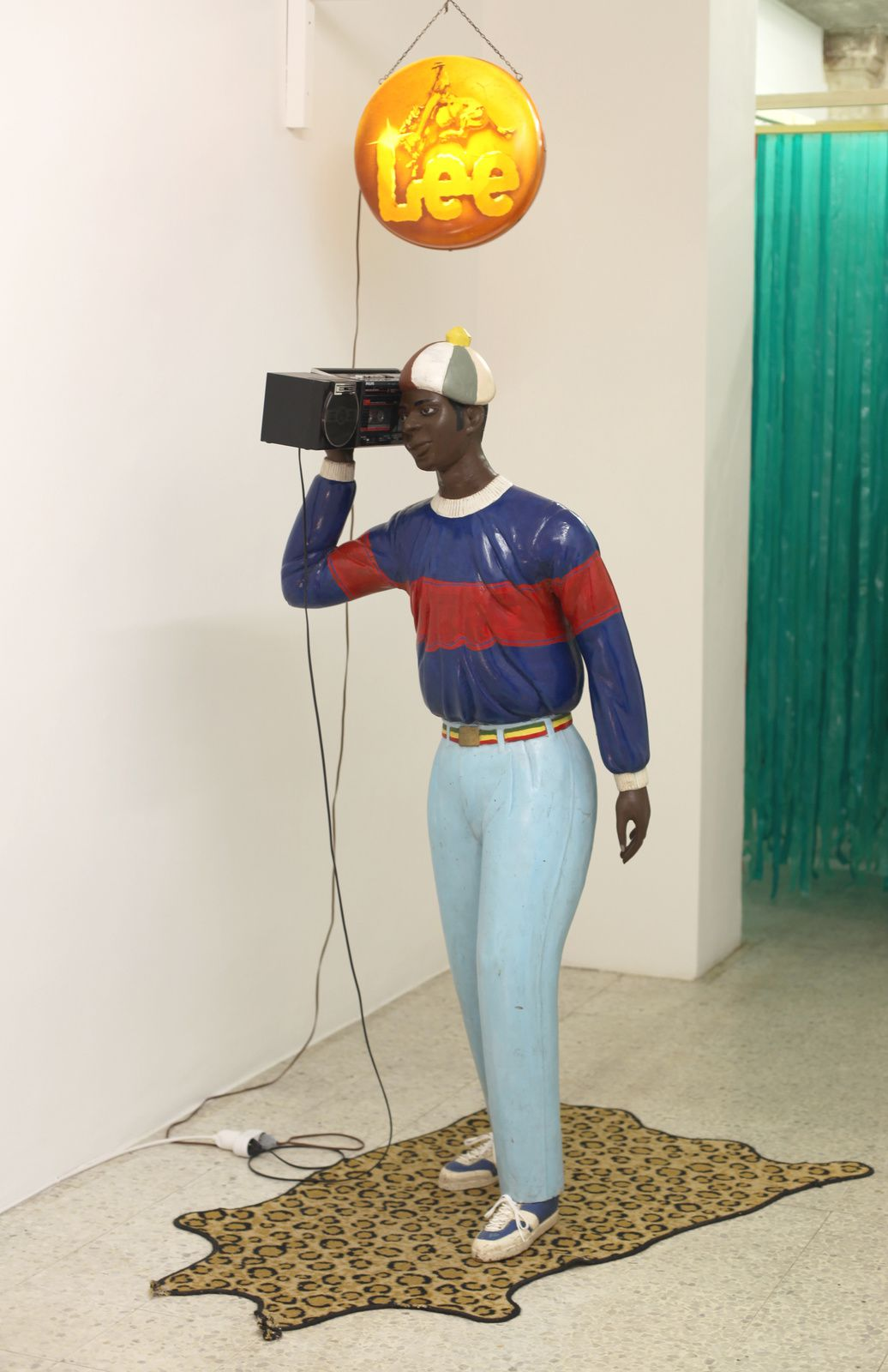 """Disco Boy"", 1986 de Présence Panchounette - Courtesy Galerie SEMIOSE © Photo Éric Simon"