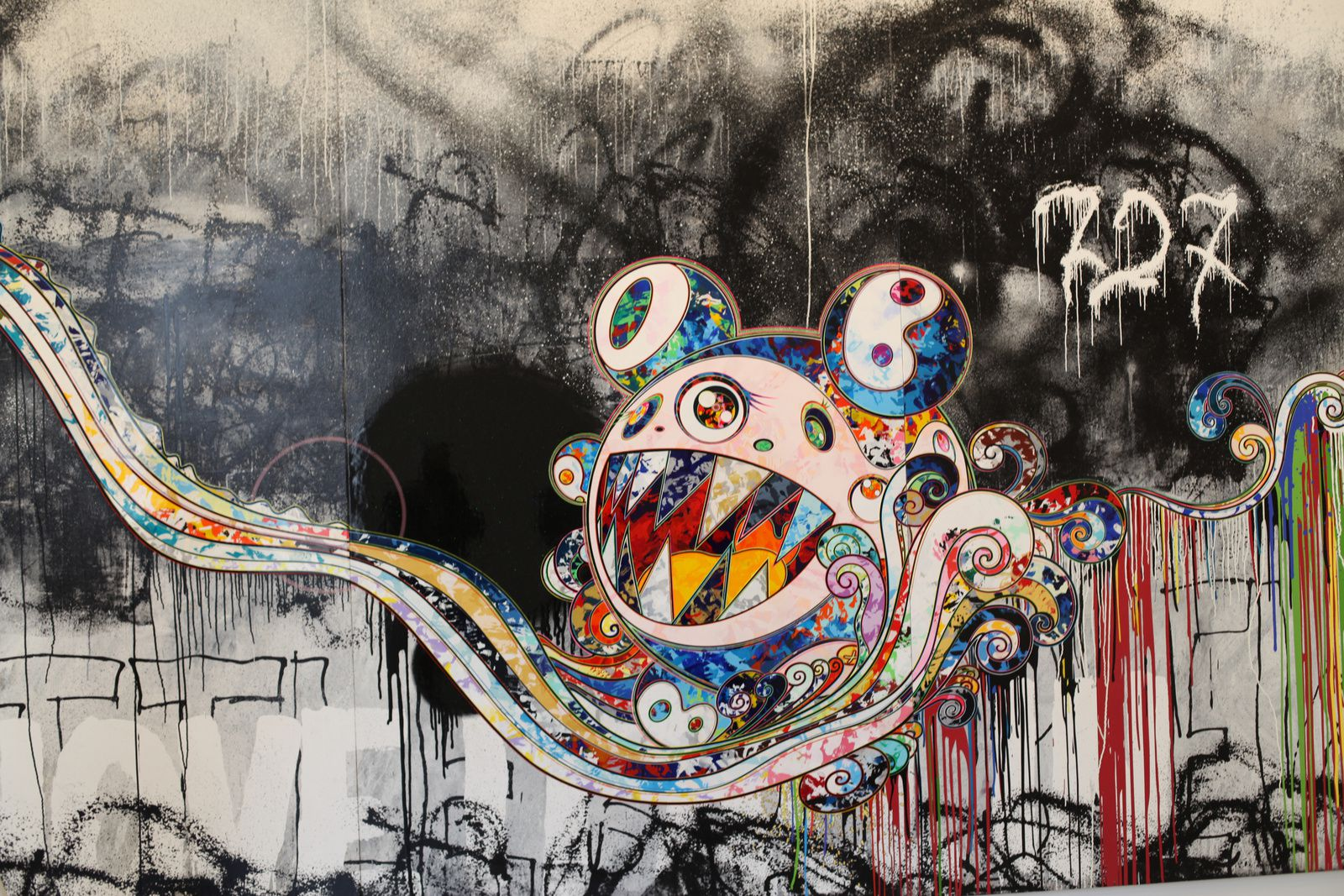 """727 (To be determined)"", 2016 de Takashi MURAKAMI - Galerie Perrotin © Photo Éric Simon"