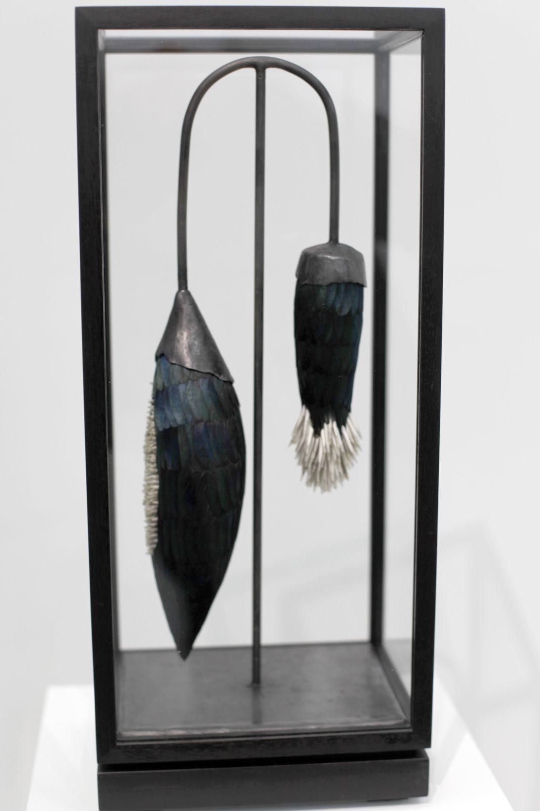"""""""Sans titre"""", 2016 de Kate MccGwire - Courtesy Galerie Particulière © Photo Éric Simon"""