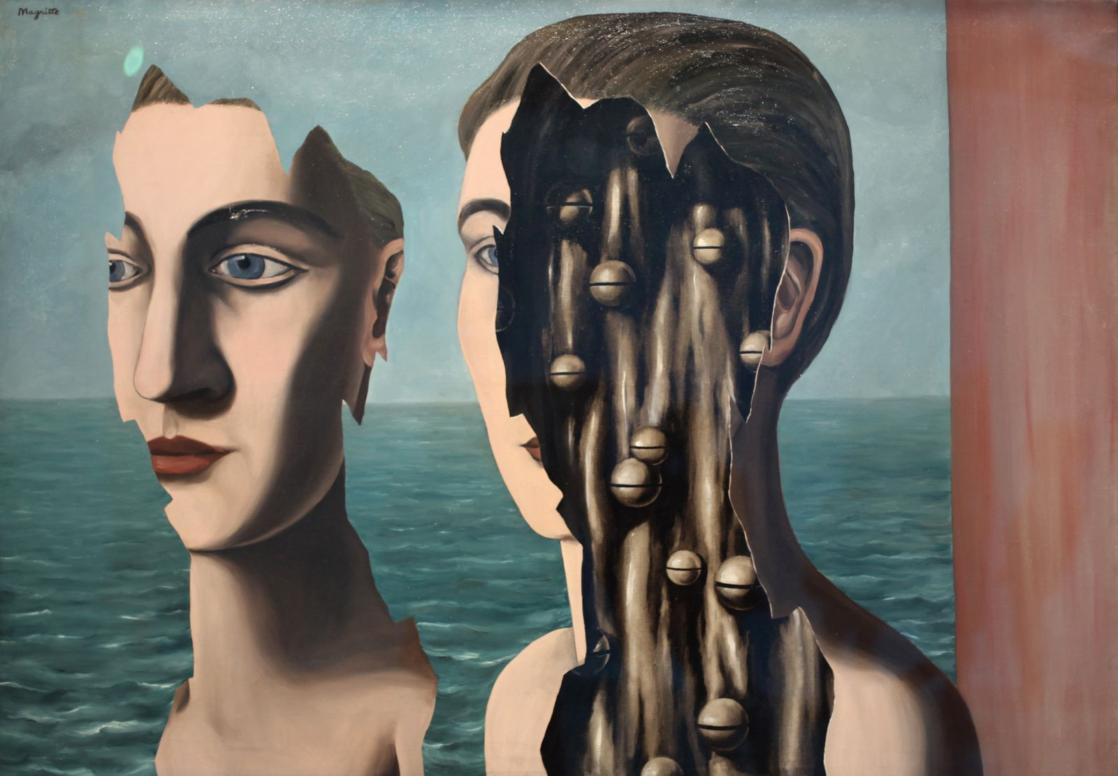 """Le Double Secret"", 1927 de René MAGRITTE - Collection Centre Pompidou © Photo Éric Simon"