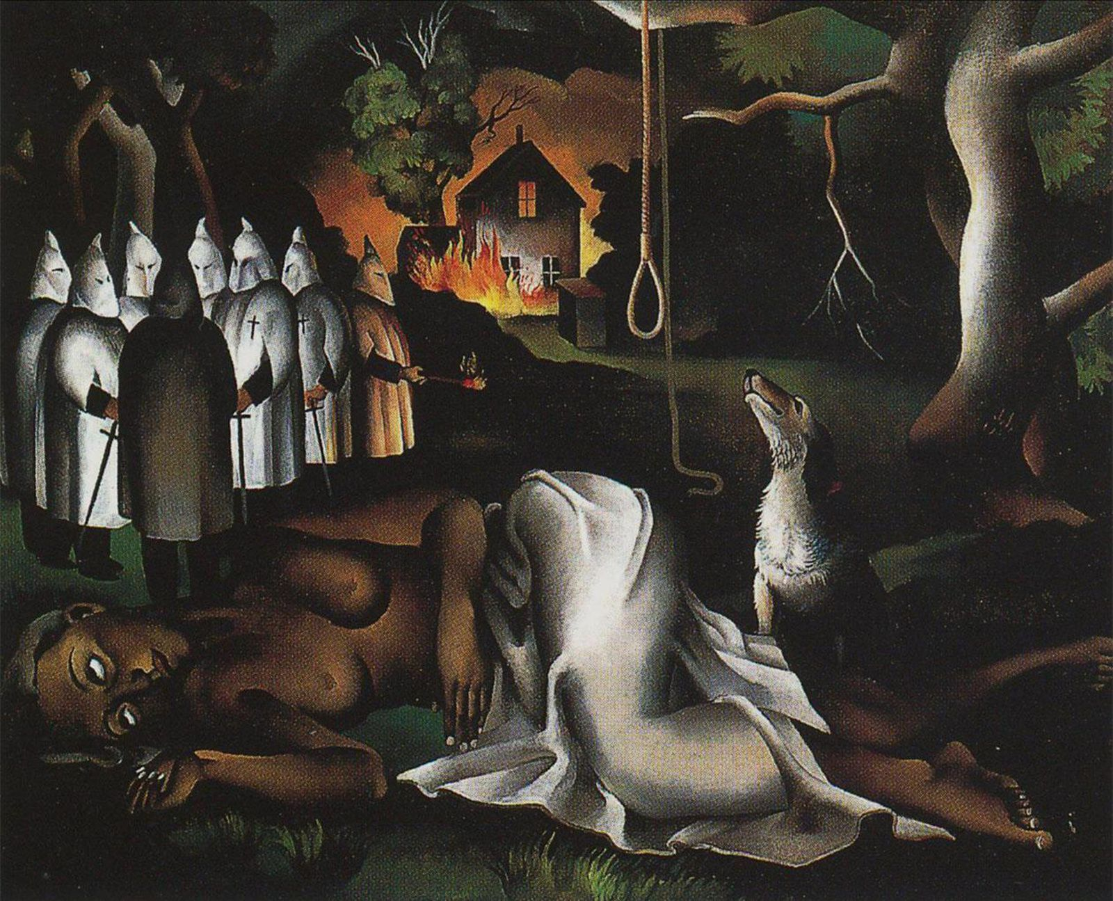 """American Justice"", 1933 de Joe JONES - Courtesy Columbus Museum of Art"