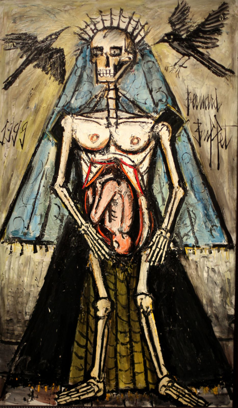 """La Mort, La Mort 5"", 1999 de Bernard BUFFET - Courtesy MAM © Photo Éric Simon"