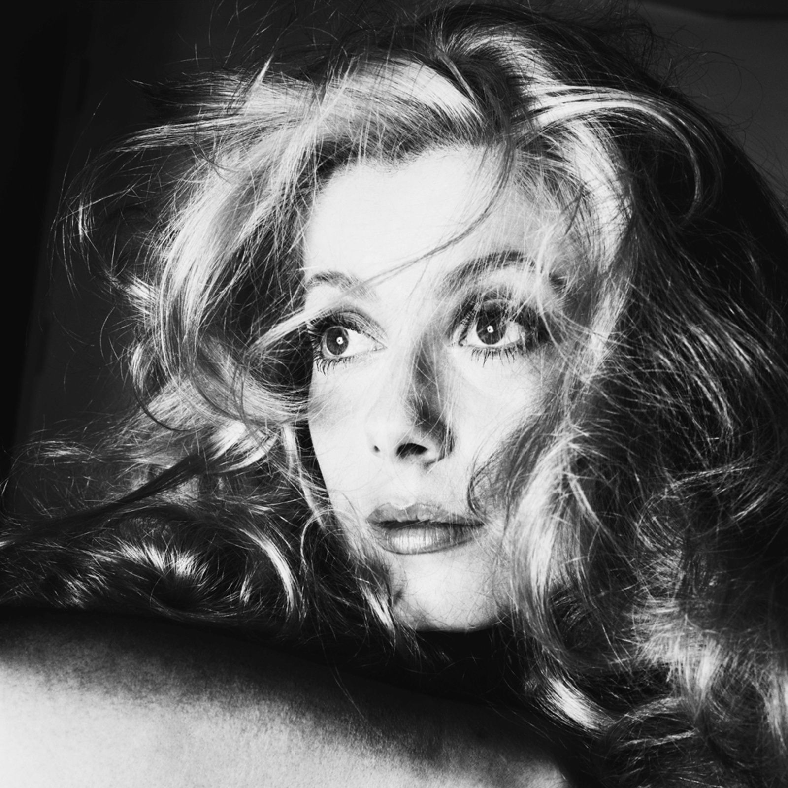 """Catherine DENEUVE, Los Angelès"", 1968 de Richard AVEDON - Courtesy Fondation Avedon"