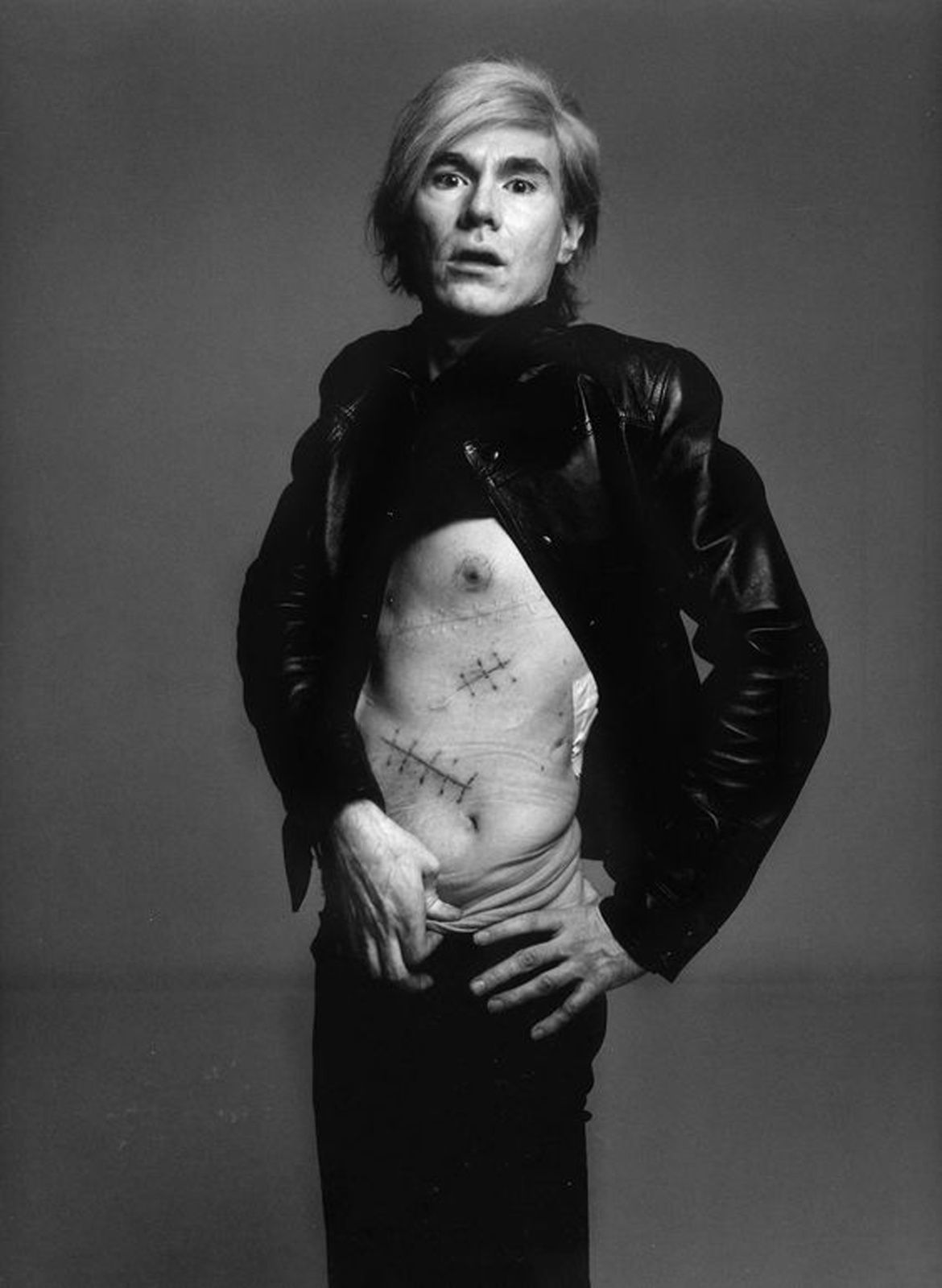 """Andy WARHOL"" de Richard AVEDON - Courtesy Fondation Avedon"