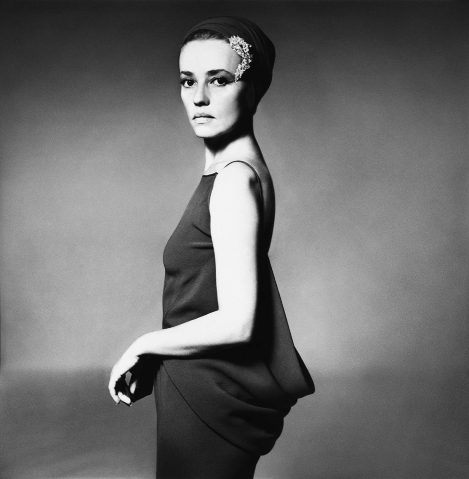 """Jeanne MOREAU"" de Richard AVEDON - Courtesy Fondation Avedon"