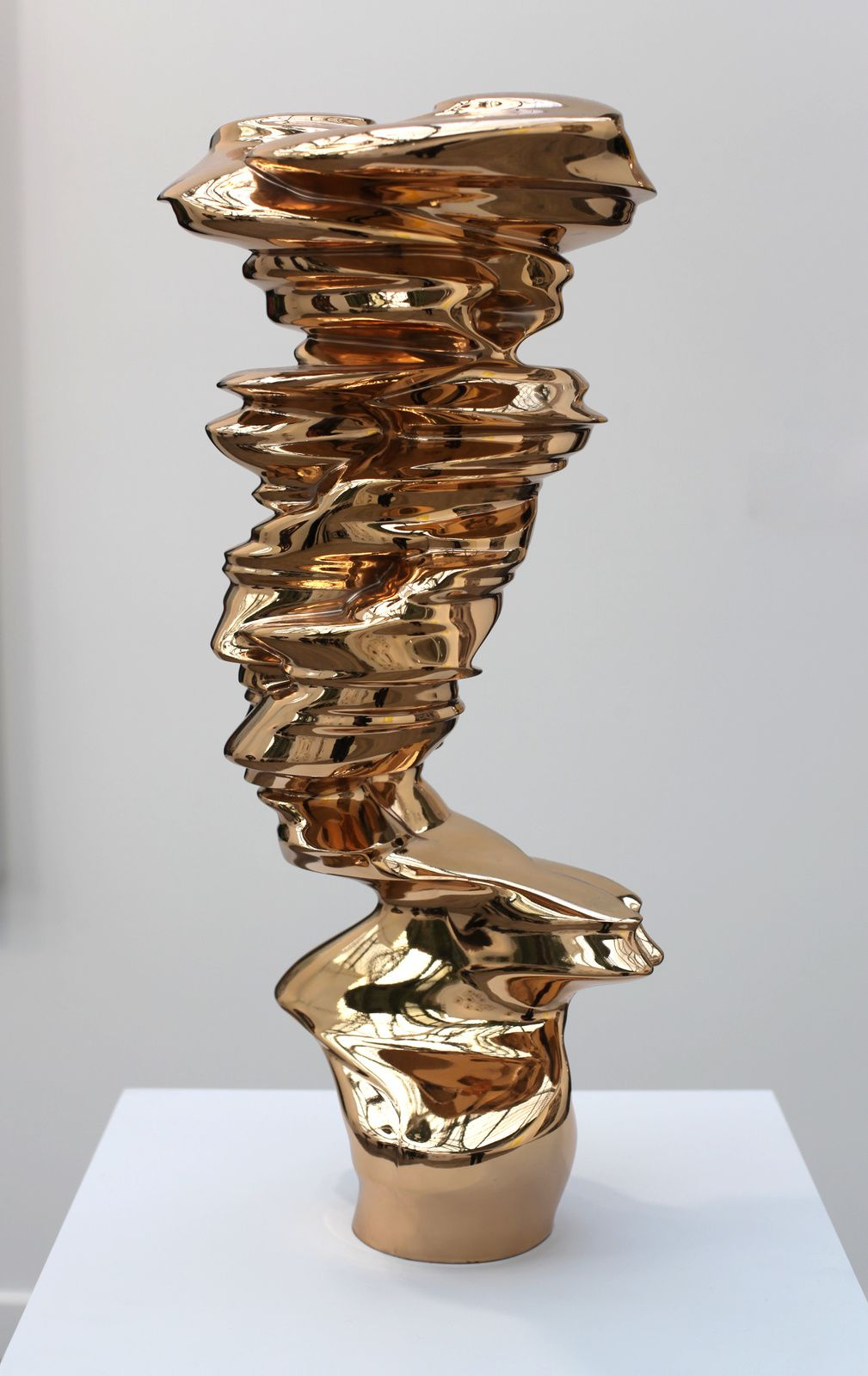 """Bust"", 2014 de Tony CRAGG - Courtesy Galerie Marian GOODMAN © Photo Éric Simon"