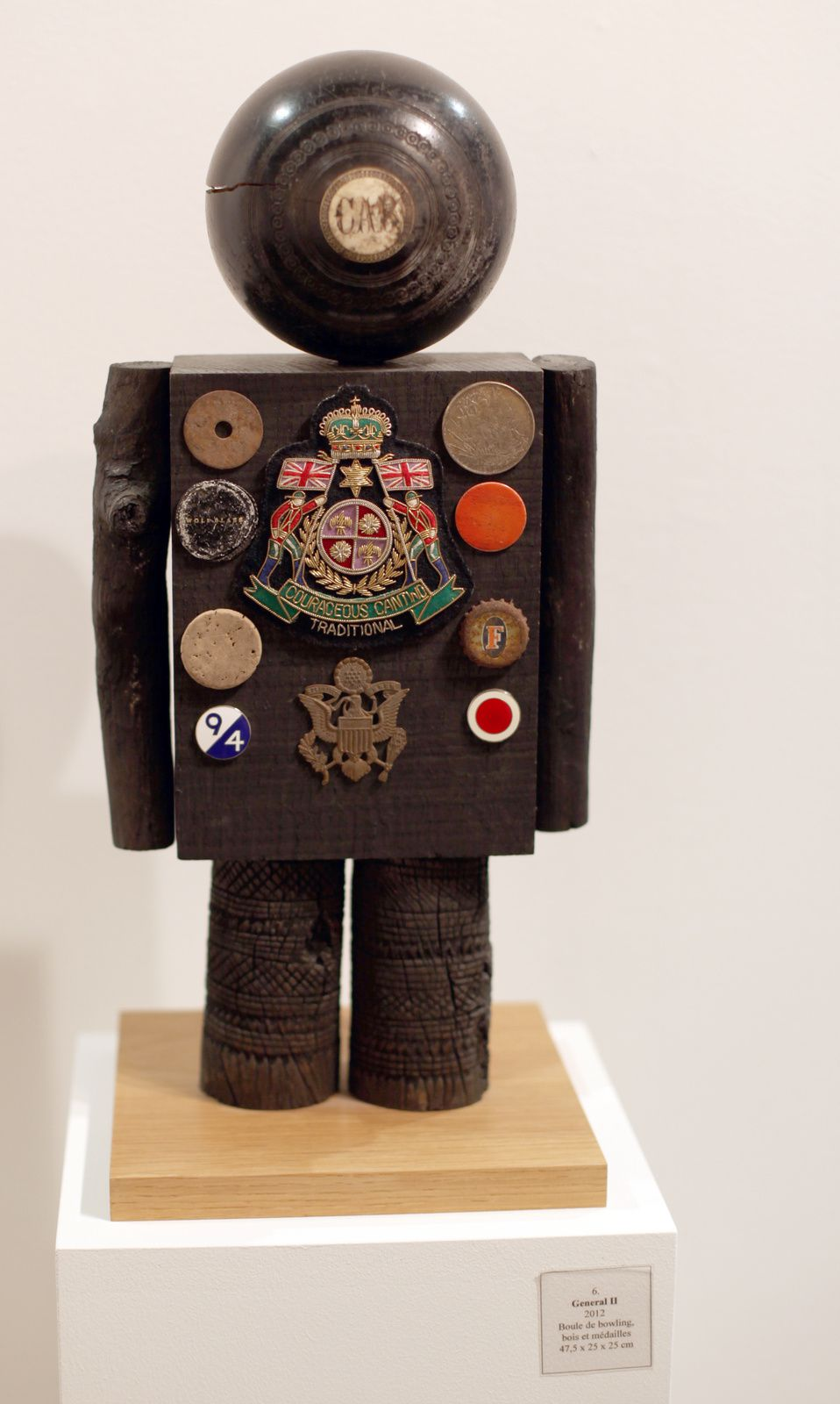 """General II"", 2012 de Peter BLAKE - Courtesy Galerie Claude BERNARD © Photo Éric Simon"