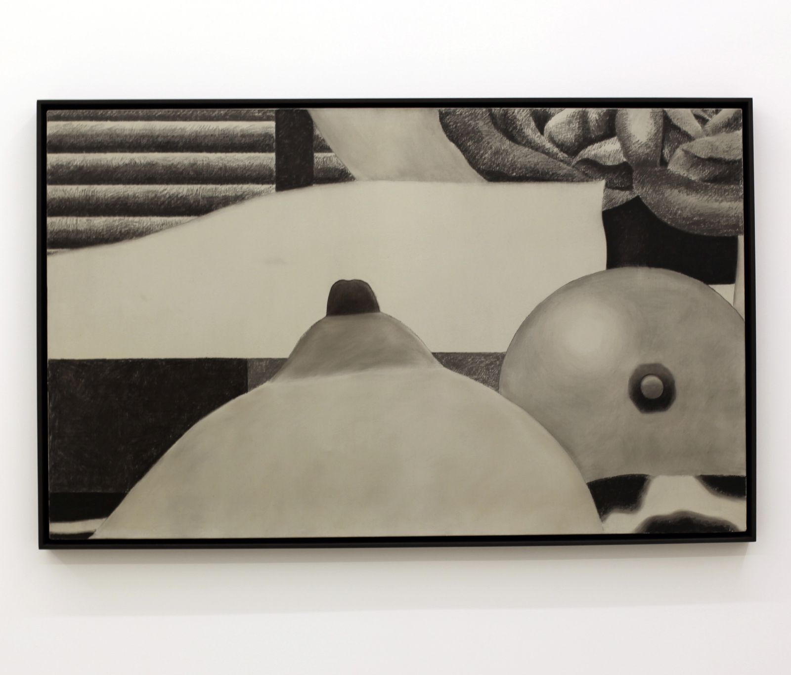 """""""Drawing for Bedroom Painting #6"""", 1969 de Tom Wesselmann - Courtesy Almine Rech Gallery © Photo Éric Simon"""