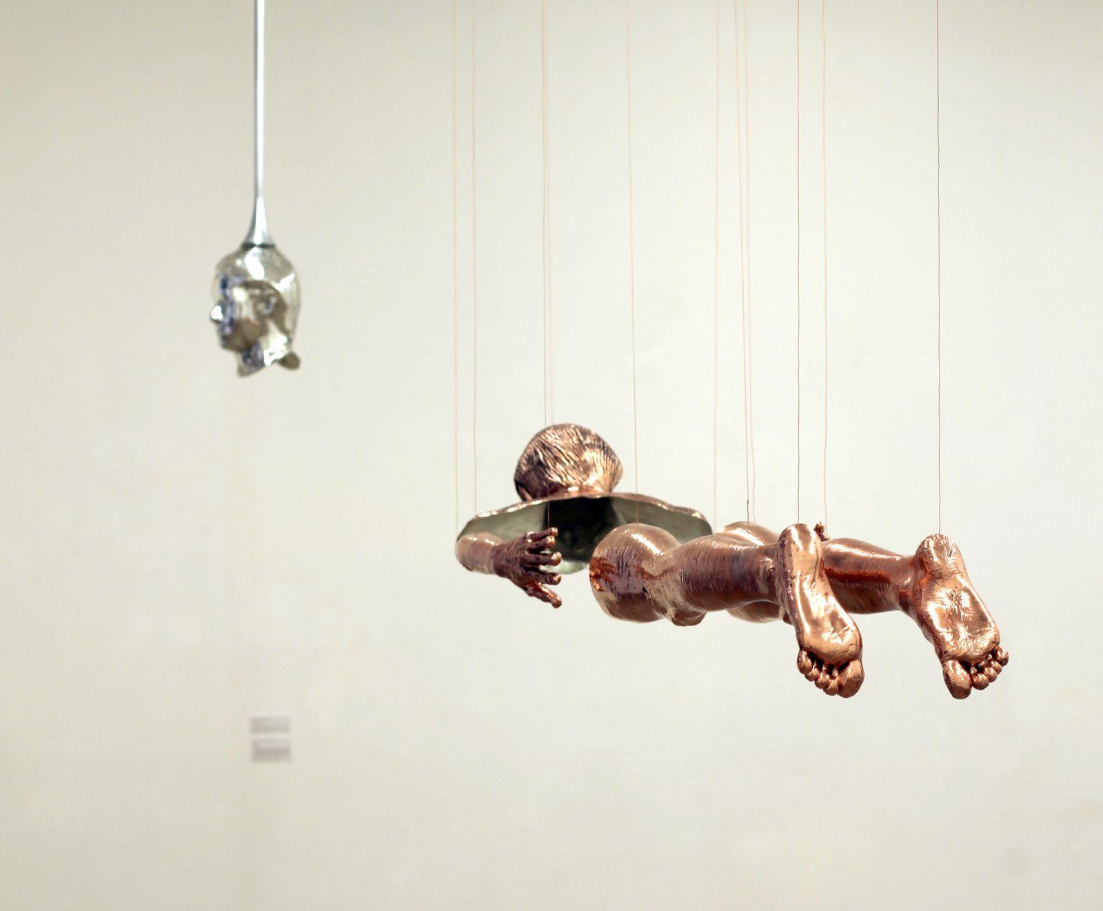 """""""Portrait de Jeune Homme Martyr"""", 2014-2016 de Pascal CONVERT - Courtesy de l'artiste et Galerie Éric Dupont © Photo Éric Simon"""