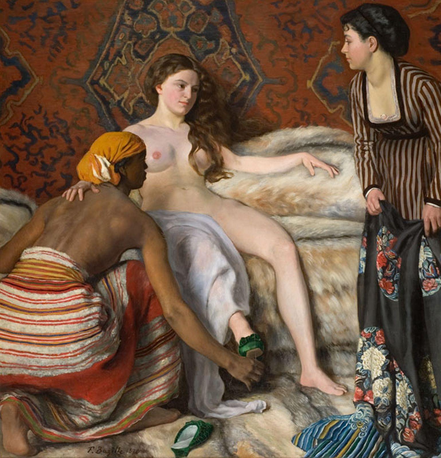 """""""La Toilette"""", 1870 de Frédéric BAZILLE"""