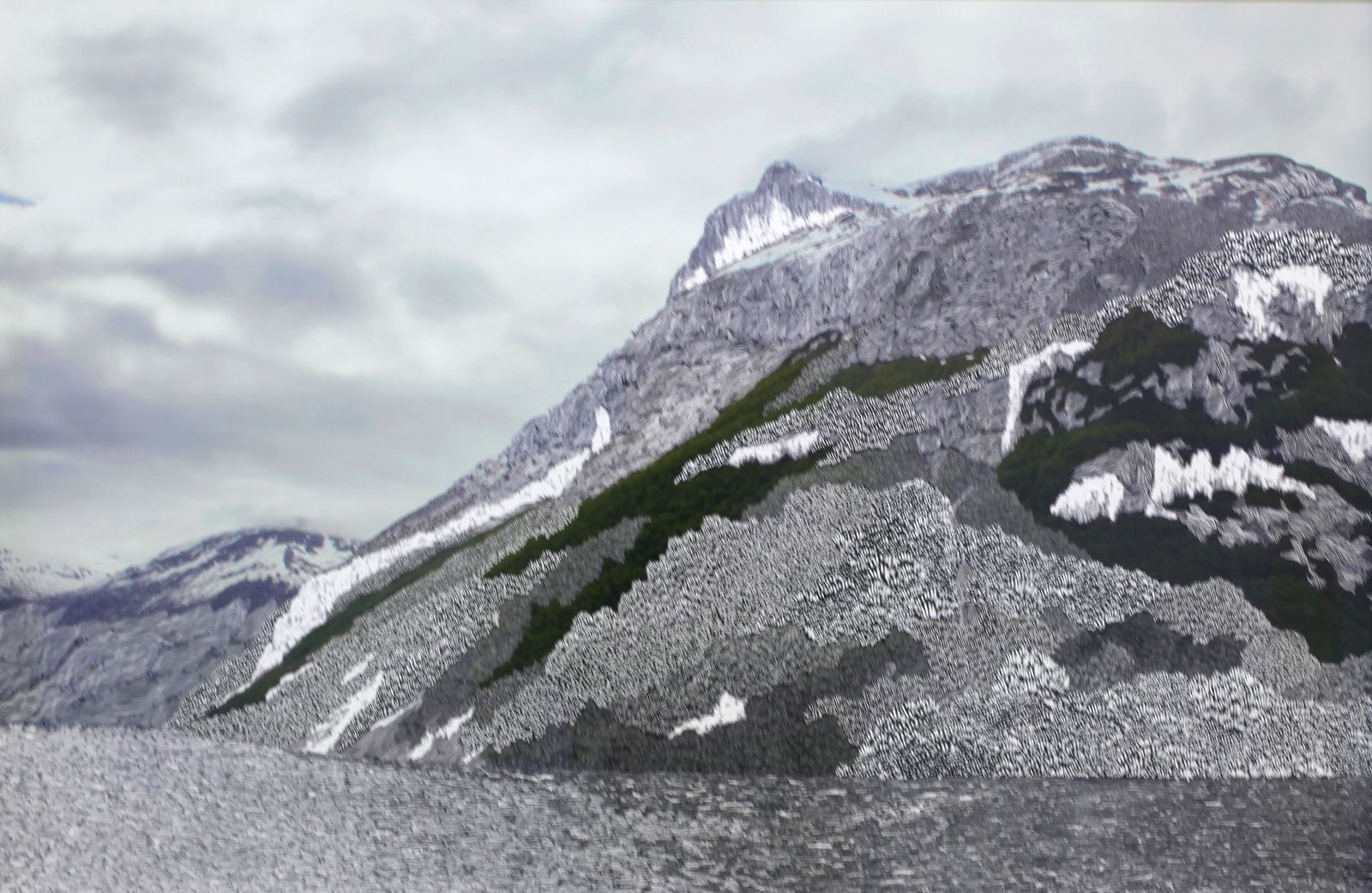"""Norvège"", 2016 de Raphaëlle PERIA - Courtesy Galerie Papillon  © Photo Éric Simon"