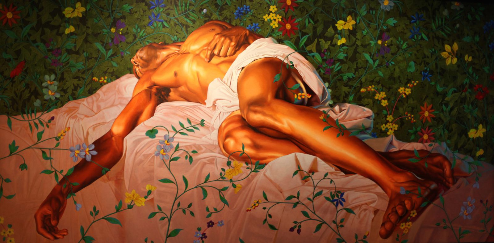 """Christ after Lady Macbeth II"", 2016 de Kehinde WILEY - Courtesy Galerie Templon © Photo Éric Simon"