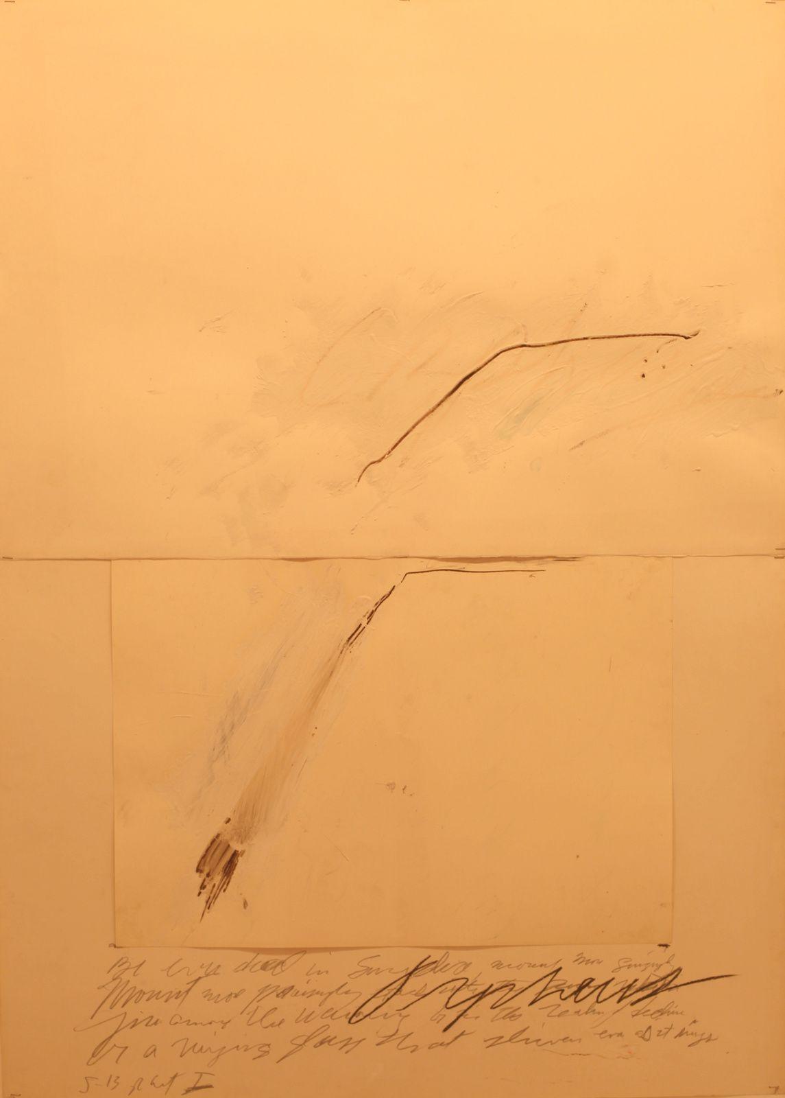 Cy TWOMBLY - Gallery GARGOSIAN © Photo Éric Simon