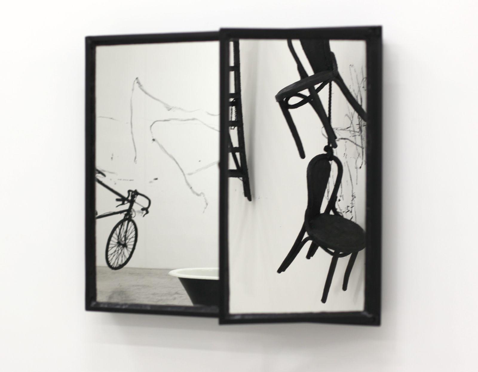 """Two Windows"", 2017 de Robin RHODE - Courtesy Galerie Kamel Mennour © Photo Éric Simon"