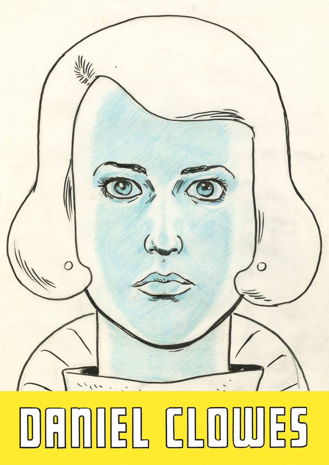 """Patience - Sketch for Front cover of the US ed."", 2015 de Daniel CLOWES - Courtesy Galerie Martel © Photo Éric Simon"