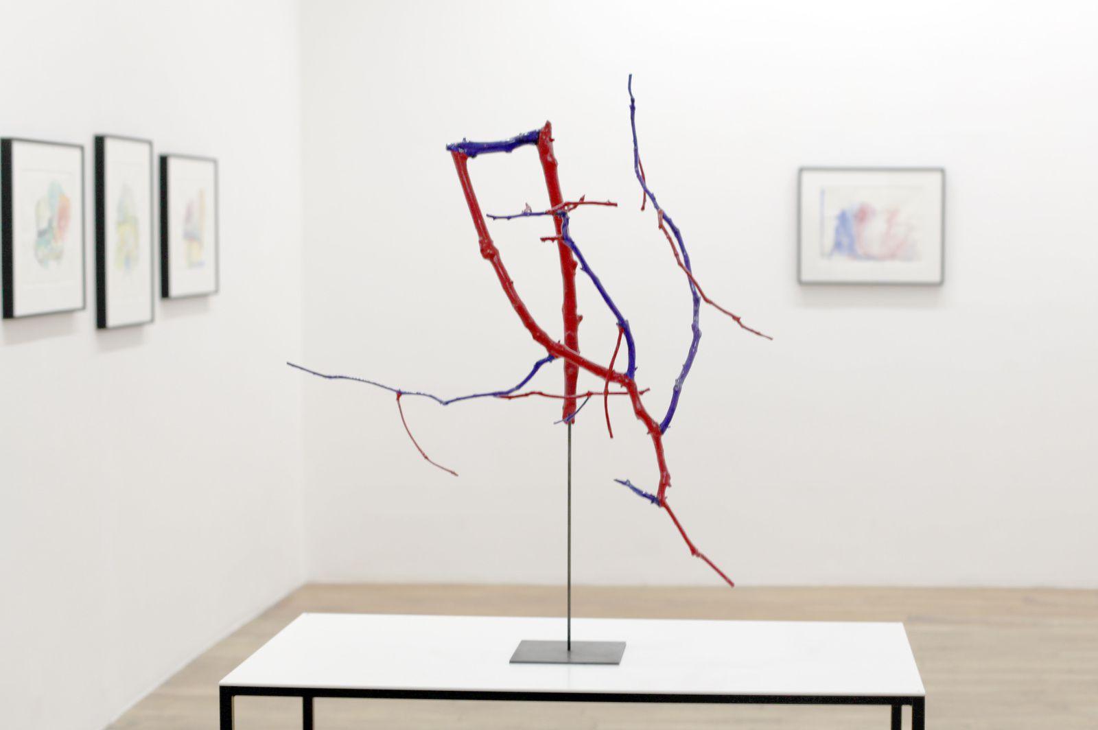 """""""Inverse - reverse"""", 2016 de Jean Luc MOULÈNE -  Courtesy Galerie Chantal Crousel © Photo Éric Simon"""