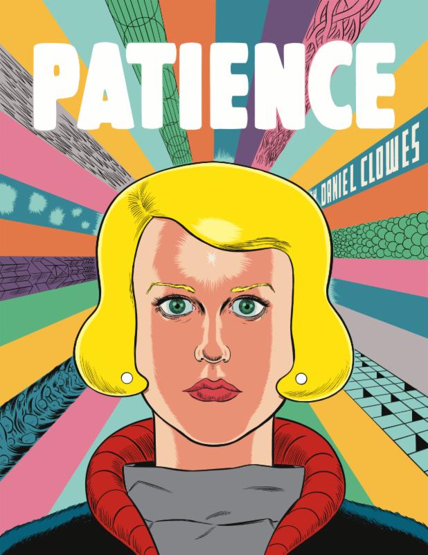 """Daniel Clowes """"Patience"""" (US cover) sérigraphie numérotée et signée  de Daniel CLOWES - Courtesy Galerie Martel © Photo Éric Simon"""