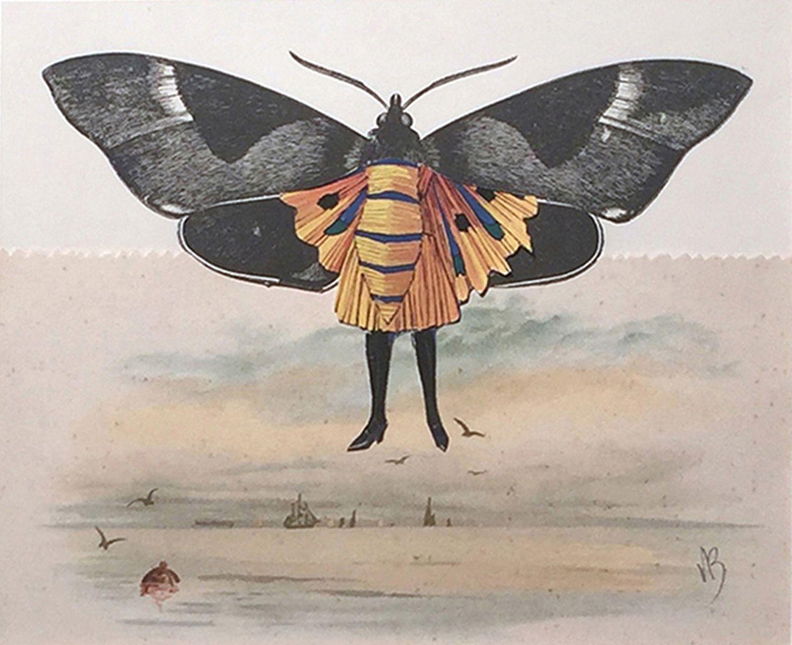 """Seabird"", 2016 de Varujan BOGHOSIAN - Courtesy Galerie Gabrielle Maubrie"